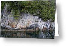 Alaskan Cliff Greeting Card