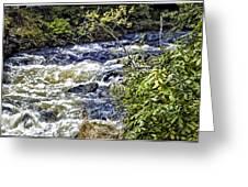 Alaskan Creek - Ketchikan Greeting Card