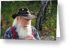 Alaskan Miner Greeting Card