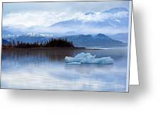 Alaskan Mountain Side Greeting Card