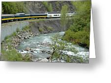 Alaskan Railroad Greeting Card