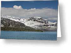 Alaskan Snow Covered Mountian Greeting Card