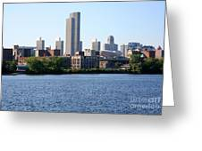 Albany Skyline Greeting Card