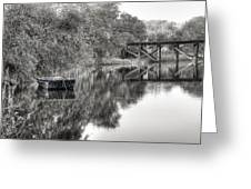Albergottie Creek Trestle Greeting Card