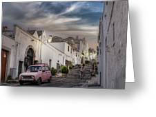 Alberobello Greeting Card