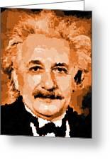 Albert Einstein 01 Greeting Card