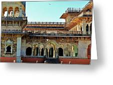 Albert Hall 2 - Jaipur India Greeting Card