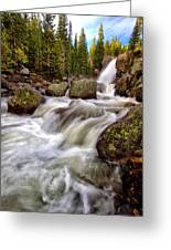 Alberta Falls Greeting Card