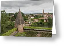 Albi France Arch Bishops Garden Greeting Card
