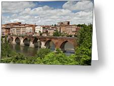 Albi France Pont Vieux Greeting Card