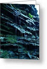 Albion Waterfalls 3 Greeting Card