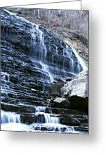 Albion Waterfalls 7 Greeting Card