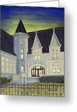 Albright Memorial Library  Greeting Card