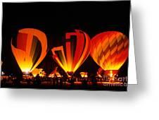 Albuquerque Balloon Festival Greeting Card
