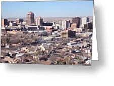 Albuquerque Skyline Greeting Card