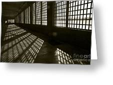 Alcatraz 4 Greeting Card by Micah May
