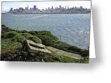 Alcatraz And San Francisco Greeting Card