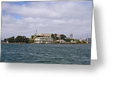 Alcatraz Is Picture Perfect Greeting Card