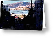Alcatraz - So Close Yet So Far Greeting Card