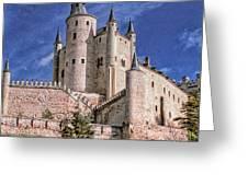 Alcazar Of Segovia Greeting Card