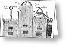 Alchemy: Tower Of Athanor Greeting Card