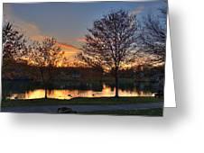 Alcion Lake IIi Greeting Card