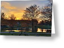 Alcion Lake  Greeting Card