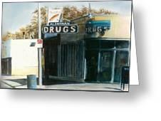 Alderman Drugs Greeting Card