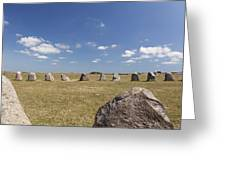 Ales Standing Stones Greeting Card