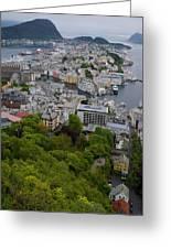 Alesund Norway Greeting Card