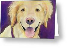 Alex Greeting Card by Pat Saunders-White