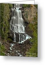 Alexander Falls - Whistler Bc Greeting Card