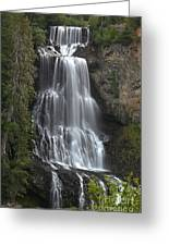 Alexander Falls - Whistler British Columbia Greeting Card