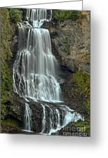 Alexander Falls Recreation Site - Whistler Bc Greeting Card