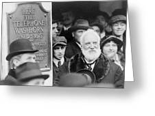 Alexander Graham Bell Greeting Card
