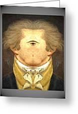 Alexander Hamilton Invert Greeting Card