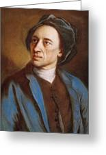 Alexander Pope Greeting Card