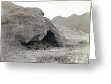 Alexander Selkirk Cave Greeting Card
