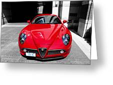Alfa Romeo 1c Greeting Card