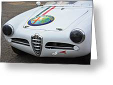 Alfa Romeo Front End Greeting Card