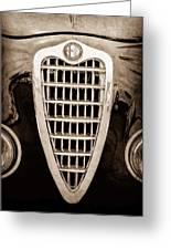 Alfa Romeo Milano Grille Emblem Greeting Card