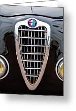 Alfa Romeo Milano Grille Greeting Card