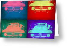 Alfa Romeo  Pop Art 1 Greeting Card