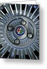 Alfa Romeo Wheel Rim Greeting Card