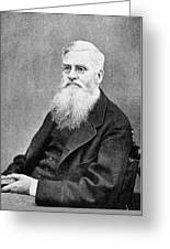 Alfred Russel Wallace (1823-1913) Greeting Card