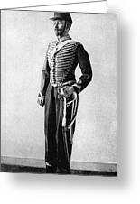 Algeria French Soldier Greeting Card