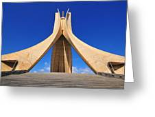 Algiers Martyrs Monument Greeting Card
