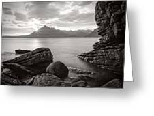 Algoll Skye Scotland Greeting Card