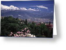 Alhambra View Greeting Card