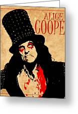 Alice Cooper 1 Greeting Card